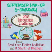 September 2018 Discussion Challenge & Giveaway