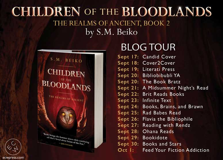 Children of the Bloodlands by S.M. Beiko: Blog Tour Giveaway