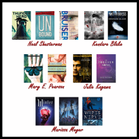 Top Ten Favorite Authors I Need to Read More!