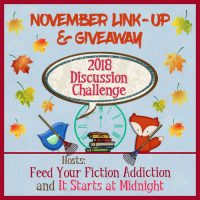 November 2018 Discussion Challenge Link-Up & Giveaway