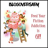 Feed Your Fiction Addiction's 6th Blogoversary Giveaway!