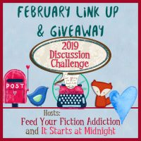 February 2019 Discussion Challenge Link-Up & Giveaway