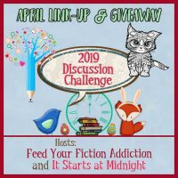 April 2019 Discussion Challenge Link-Up & Giveaway