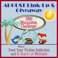 August 2019 Discussion Challenge Link-Up & Giveaway