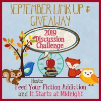 September 2019 Discussion Challenge Link-Up & Giveaway