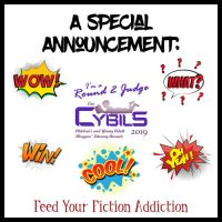 I'm a Judge for the 2019 Cybils Awards!