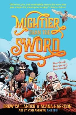 Mightier Than the Sword: Review & Giveaway of a Uniquely Interactive Middle Grade Fantasy