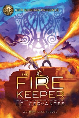 The Fire Keeper by J.C. Cervantes: Spotlight & Giveaway (Plus a Link to My Review & Poem!)