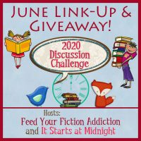 June 2020 Discussion Challenge Link-up and Giveaway!