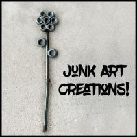 Our First Junk Art Creations!