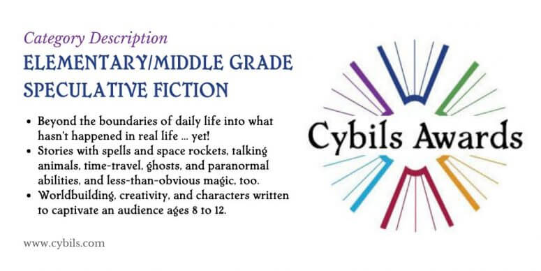 Description of the Middle Grade Speculative Fiction Category: Basically fantasy, sci-fi, and paranormal are all included in this category.