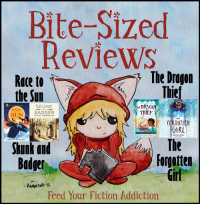 Bite-Sized Reviews of Cybils Nominees: Race to the Sun, Skunk and Badger, The Dragon Thief, and The Forgotten Girl