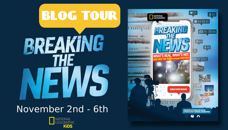 Breaking the News from National Geographic: Giveaway and a Fun Quiz!