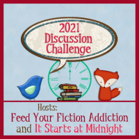2021 Book Blog Discussion Challenge Sign-Up
