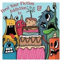 Feed Your Fiction Addiction's 8th Blogoversary Giveaway!
