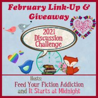 February 2021 Discussion Challenge Link-Up & Giveaway