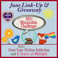 June 2021 Discussion Challenge Link-Up & Giveaway
