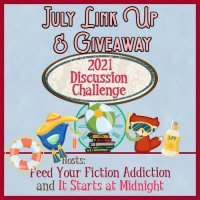 July 2021 Discussion Challenge Link-Up & Giveaway